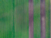 Abstract beeld van landbouwgrond Stock Afbeelding