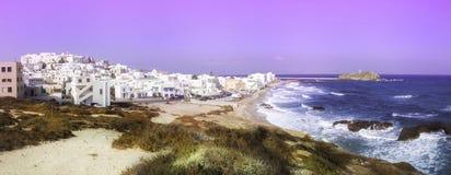 Abstract beeld van Naxos Royalty-vrije Stock Fotografie