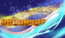 Abstract beeld van technologisch close-up als achtergrond Royalty-vrije Stock Foto's