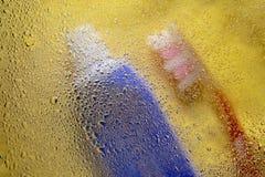 Abstract beeld van toiletries royalty-vrije stock fotografie