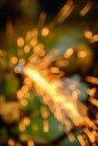 Abstract beeld van vage bokeh Lichte achtergrond van lassenwi Stock Foto