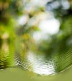 Abstract beeld van waterclose-up Stock Afbeeldingen