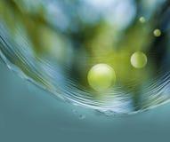 Abstract beeld van waterclose-up Royalty-vrije Stock Fotografie