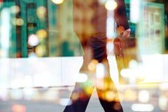Abstract beeld van werktijd Royalty-vrije Stock Foto