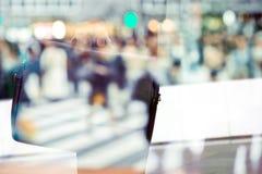 Abstract beeld van werktijd Stock Fotografie