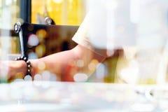 Abstract beeld van werktijd Stock Foto