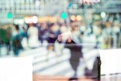 Abstract beeld van werktijd Royalty-vrije Stock Afbeeldingen
