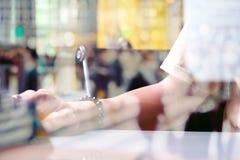 Abstract beeld van werktijd Royalty-vrije Stock Afbeelding