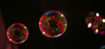 Abstract beeld van zeepbels Royalty-vrije Stock Afbeelding