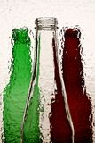 Abstract Beer Bottle Background Royalty Free Stock Images
