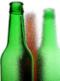 Abstract Beer Bottle Background Royalty Free Stock Photography