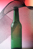 Abstract Beer Bottle Background Royalty Free Stock Photo