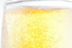 Abstract beer glass Stock Image