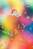 Abstract behang met regenboogkleuren Stock Afbeeldingen