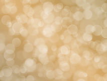 Abstract beige background with boke effect Royalty Free Stock Images