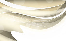 Abstract beige background with wave. Vector illustration Stock Photo