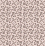 Abstract beige and brown floral geometric Seamless Royalty Free Stock Photo