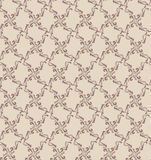 Abstract beige and chocolate floral geometric Seam Stock Photo
