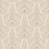 Abstract beige floral seamless background Stock Photography