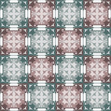 Abstract beige grey ornament seamless pattern Royalty Free Stock Photography