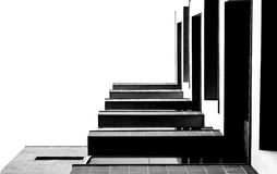 Abstract bekijk het gebouw Royalty-vrije Stock Foto