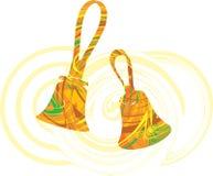 Abstract bells illustration. Made in adobe illustrator royalty free illustration