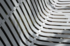 Abstract of benches in the autumn park Stock Photos