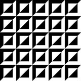 Abstract beveled, embossed pattern, monochrome geometric backgro Stock Image