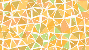 Abstract biege brown green earthtones gradient lowploly of many triangles background for use in design. Royalty Free Stock Photo