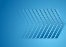Abstract big arrows tech background Royalty Free Stock Photography