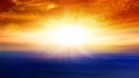 Light from sky . Religion background . Abstract big explosion . Light from sky . Religion background . beautiful cloud . background sky at sunset and dawn royalty free stock image