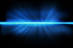 Abstract binary background Stock Photo