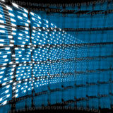 Abstract binary background Royalty Free Stock Image