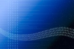 Abstract Binary Background Stock Image