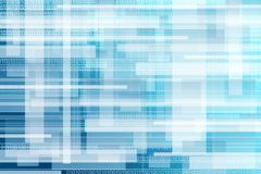 Abstract binary background Stock Photography
