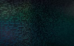 Abstract Binary Background stock images