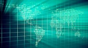 Abstract binary code Stock Photo