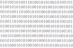 Abstract binary code Stock Photo