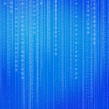 Abstract binary code background Royalty Free Stock Image