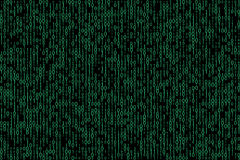 Abstract binary code background royalty free illustration