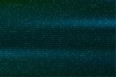 Abstract binary code background. Digital technology wallpaper.   Stock Image