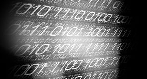 Abstract binary code. Computer binary code abstract background Vector Illustration