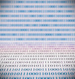 Abstract binary code Stock Image