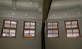Abstract binnenland met gesloten venster Stock Fotografie