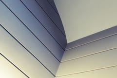 Abstract binnenlands fragment met donkere hoek Stock Foto's