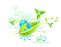 Abstract bio design Royalty Free Stock Photos