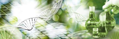 Abstract biotechnologisch beeld Stock Foto