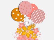 Abstract Birthday Card Stock Photos