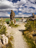 Abstract Bizarre Landscape, Mono Lake Royalty Free Stock Images