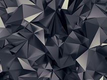 Abstract black background. 3d abstract black jet background Royalty Free Stock Photo